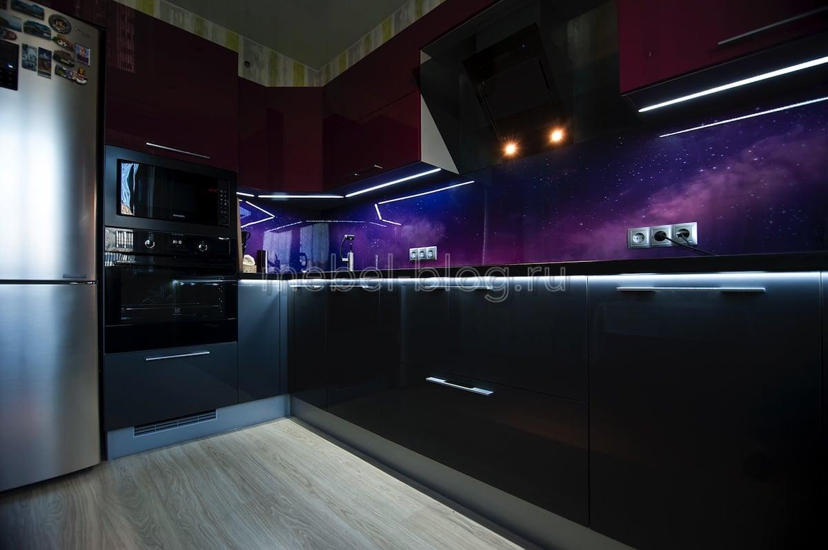 Кухня просто «космос»