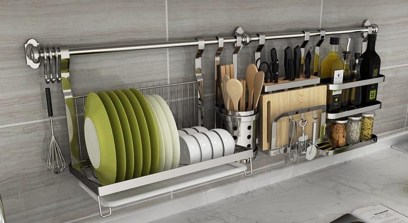 Рейлинг для гарнитура на кухню