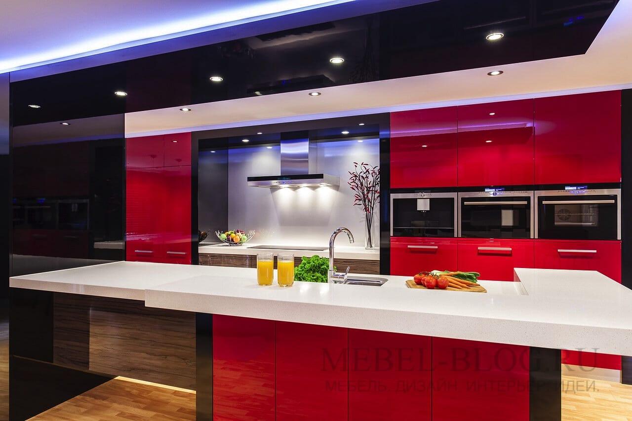 кухня в модерне
