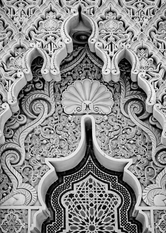 арка и резной свод