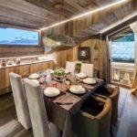 деревянная столовая
