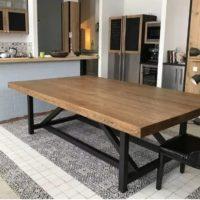 слэбовый стол