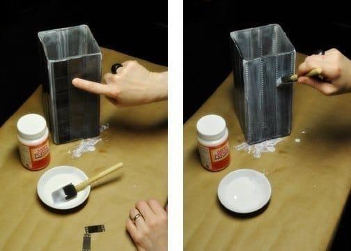 Креативный светильник из фотоплёнки