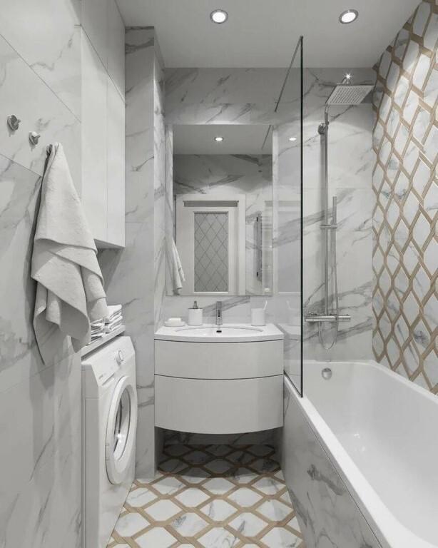 вместительная ванная