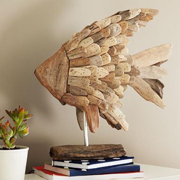 деревянная рыбка