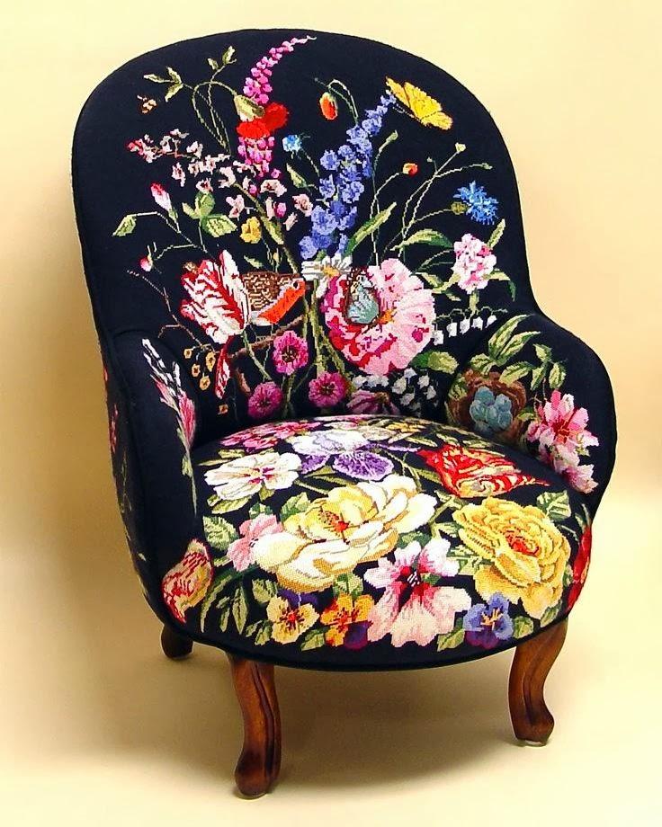 цветочное кресло