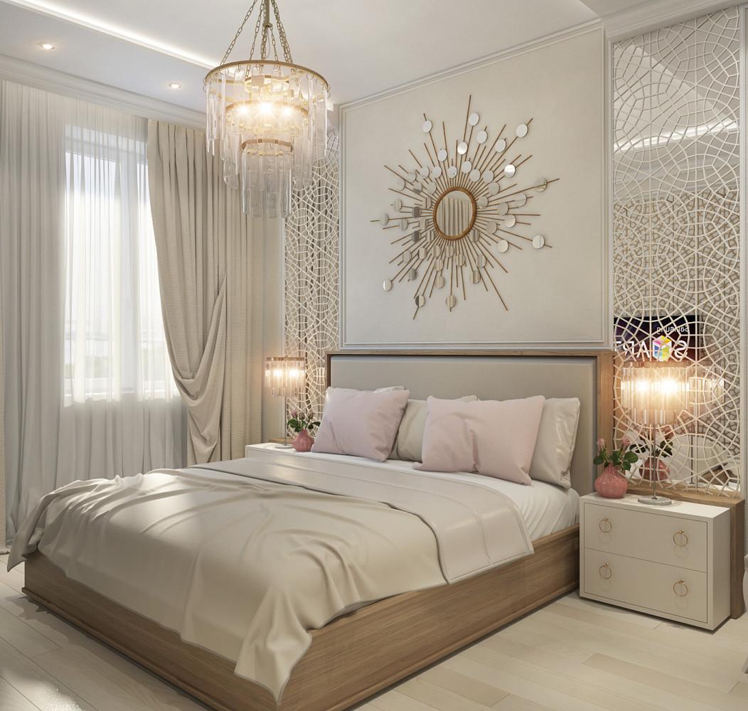 солнышко над кроватью