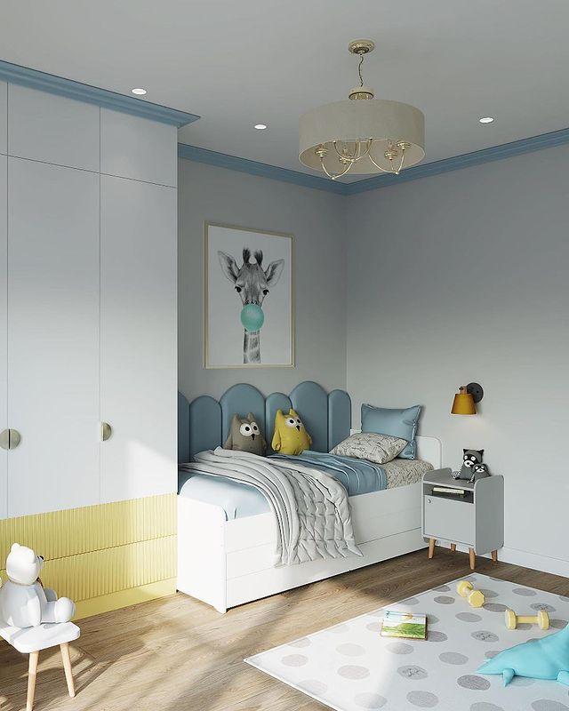 кровать с совами