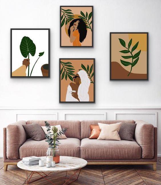 четыре картины