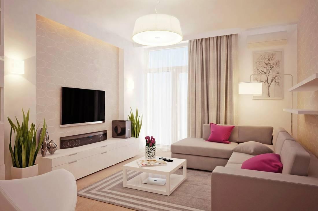 две розовых подушки