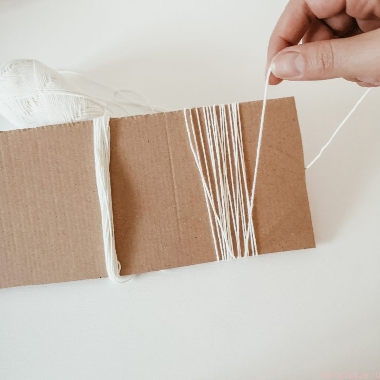 намотка на картон