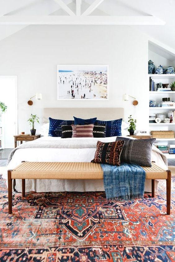 ковёр в интерьере