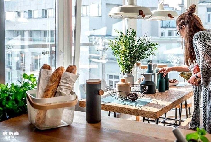 Квартира с панорамными окнами в Польше
